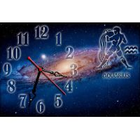 Годинник настінний зодіаку Водолій