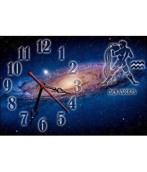 Часы настенные зодиак Водолей
