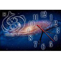 Часы настенные зодиак Рыбы