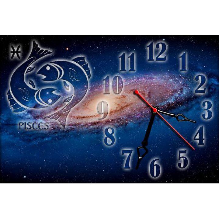 Годинник настінний зодіаку Риби