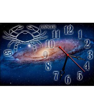 Часы настенные зодиак Рак