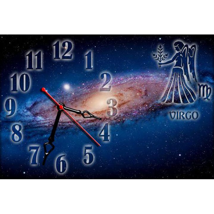 Часы настенные зодиак Дева