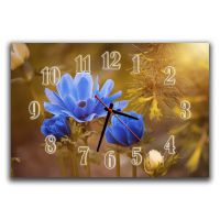 Настенные часы для спальни Красота цветка, 30х45 см