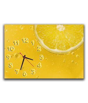 Настенные часы для кухни Апельсиновая свежесть, 30х45 см
