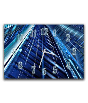 Настінний годинник для залу Сучасність, 30х45 см