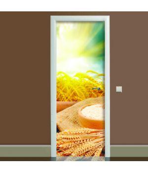 Наклейка на дверь Этно, 65х200 см
