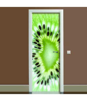 Наклейка на двері Ківі, 65х200 см
