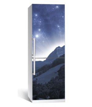 Наклейка на холодильник Космос 01 650х2000 мм