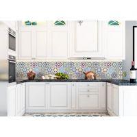 Виниловая наклейка фартук-скинали на кухню Орнамент 600х2500 мм
