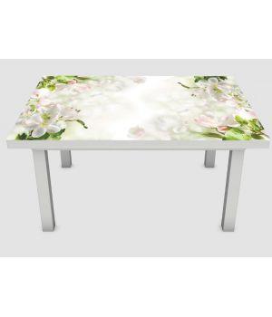Наклейка на стол Нежное цветение, 60х120 см