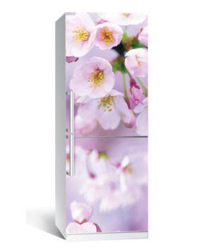 Наклейка на холодильник Яблуневе цвітіння 650х2000мм