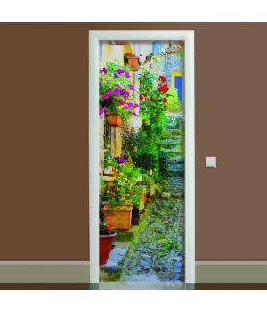Наклейка на двері Прованс, 65х200 см