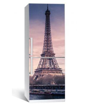 """Наклейка на холодильник """"Річка в Парижі"""" 650х2000мм"""