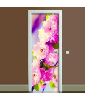 Наклейка на двері Романтик, 65х200 см