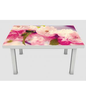 Наклейка на стол Соцветия, 60х120 см