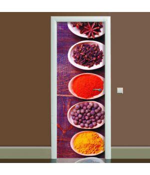 Наклейка на двері Спеції, 65х200 см