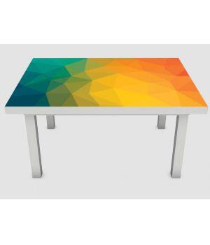 Наклейка на стіл Абстракція 01, 60х120 см