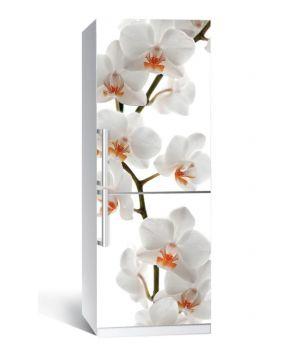 Наклейка на холодильника Гілка орхідеї 650х2000мм