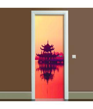 Наклейка на дверь Вдохновение, 65х200 см