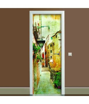 Наклейка на двері Прованс 01, 65х200 см
