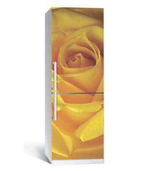 Наклейка на холодильник Роза 650х2000 мм