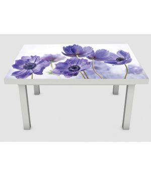 Наклейка на стіл Волошка 01, 60х120 см