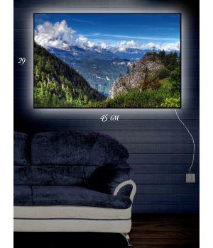 Картина с подсветкой 29х45 Тайна горбатой горы