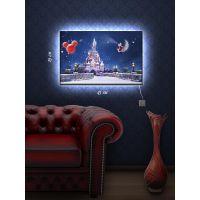 Картина с подсветкой 29х45 Замок Дисней