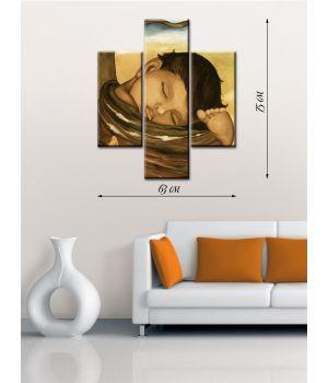 Модульная картина на холсте Спящий мальчик