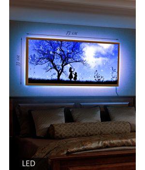 LED Картина Две сестры