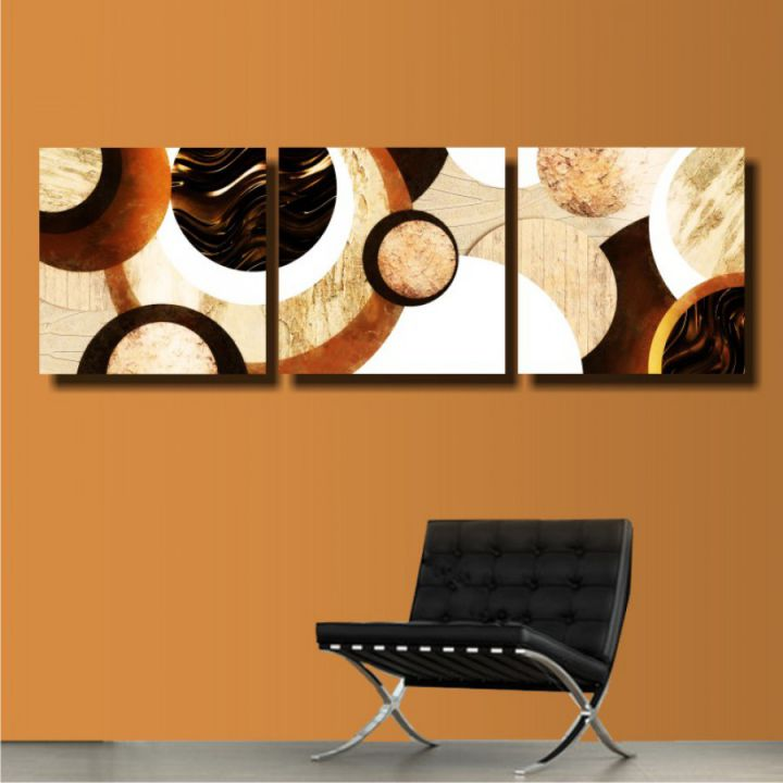 Модульная картина Шоколад и карамель