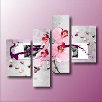 Орхидея и цветные камни