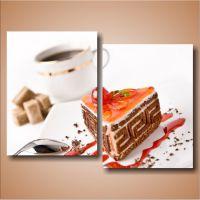 Торт и кофе