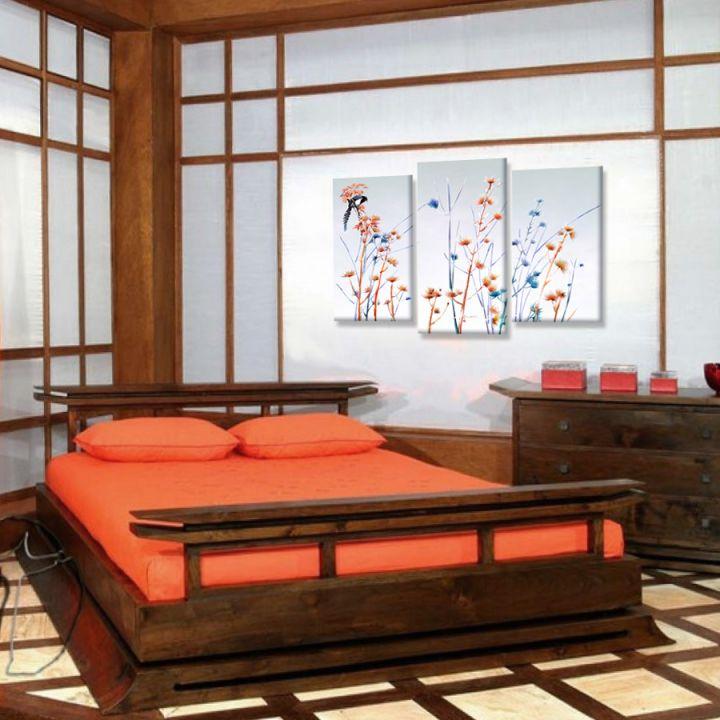Модульная картина Японский стиль