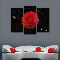 1 красная роза