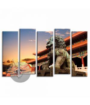 Картина Японская статуя