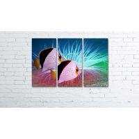Модульная картина-триптих Pr2404230, 90х60 см