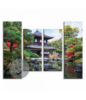 Картина Японский дом