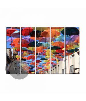 Картина Цветные зонтики
