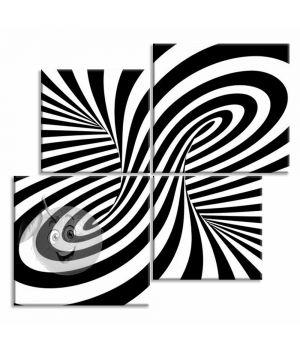 Картина Черным по белому