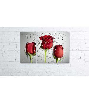 Модульная картина-триптих Pr2404195, 90х60 см