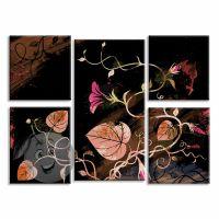 Картина Цветочки и листики