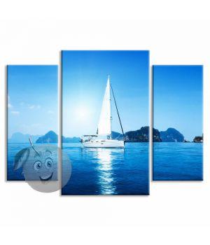 Картина Яхта