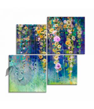 Картина Цветочный водопад