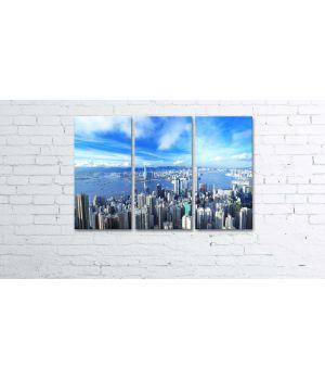 Модульная картина-триптих Pr2404277, 90х60 см