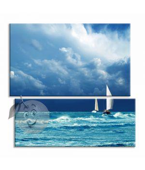 Картина Яхты перед штормом
