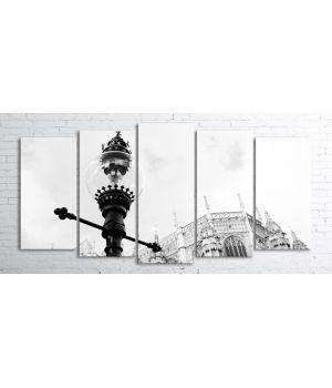 Картина-поліптих на полотні Arn163, 100х200 см
