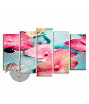 Картина Цветы на воде