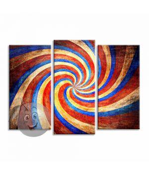 Картина Цветной вихрь