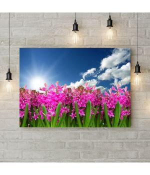 Картина на холсте Весеннее Цветение, 50х35 см